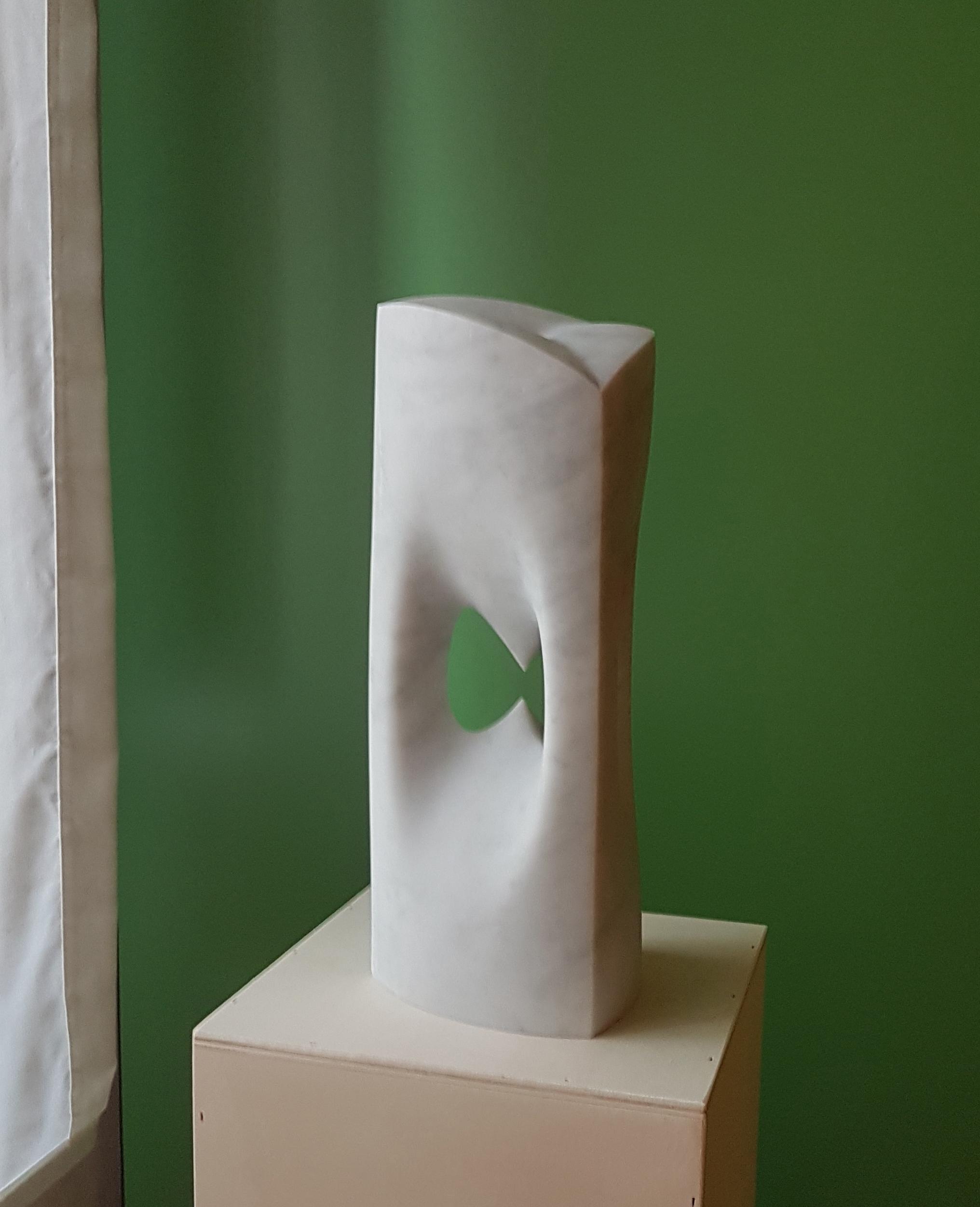 Clepsydra - h 45 cm  Carrara marble  2014