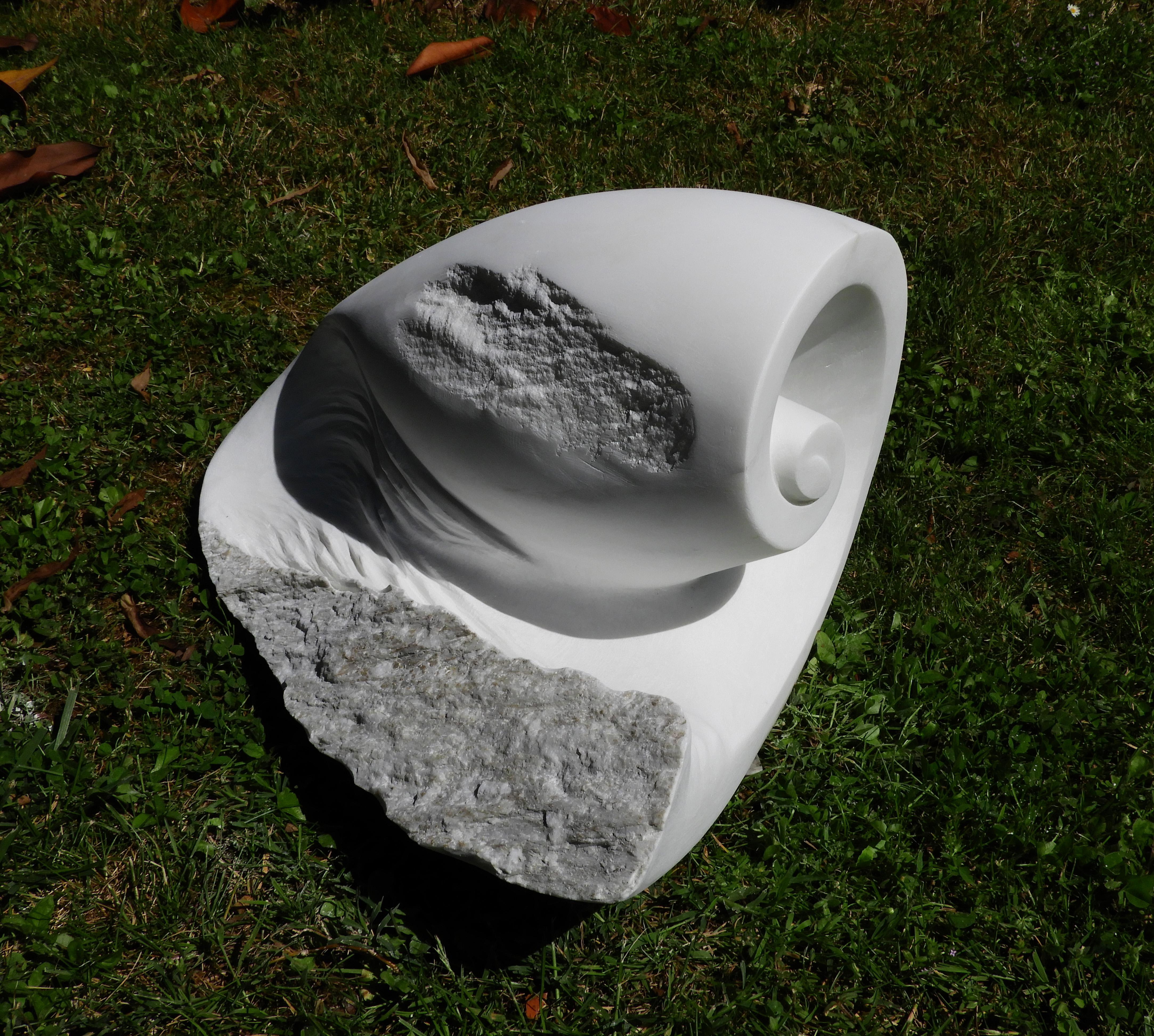 Oblio  - h 32 cm  statuario marble  2019