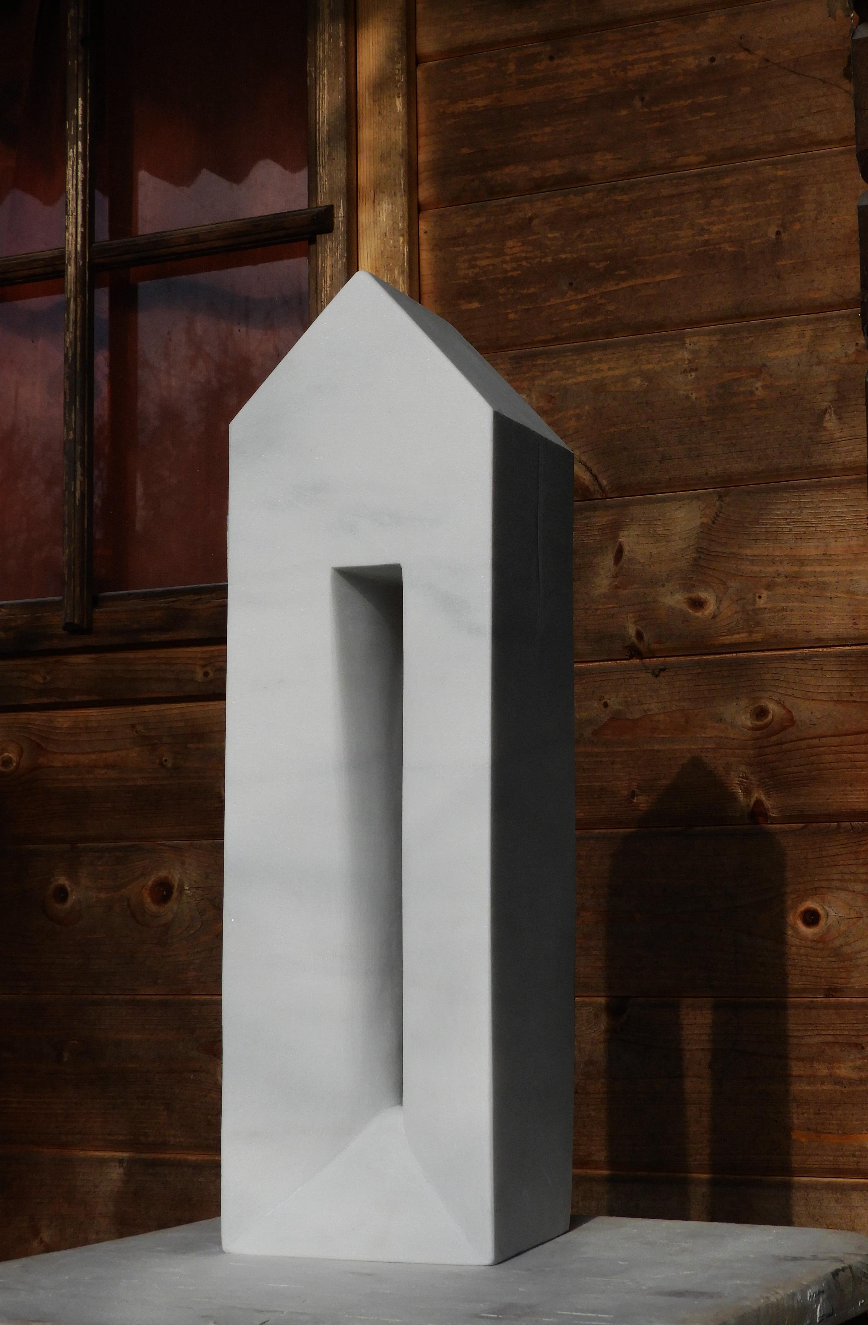 Intimately - h 49 x 14,5 x 12 cm  Lasa marble  2020