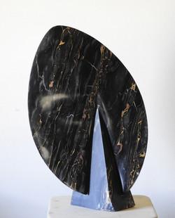 L'iniziazione  - h 65 x 42 x 19 cm  portoro marble  2019