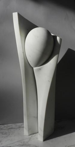 Rinascita - h 73 X 32 X 25 cm - marble 2021