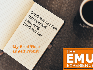 Confessions of an Introverted Learning Professional: My Brief Time as Jeff Probst