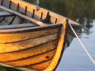 Träbåtsverksamheten börjar vakna till liv...