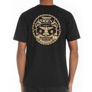 OBEY - T-shirt black eagle