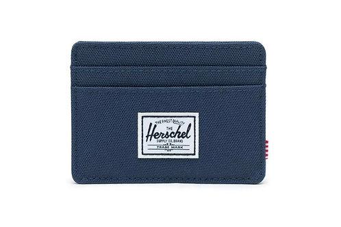 HERSCHEL -charlie-Porta card-NAVY