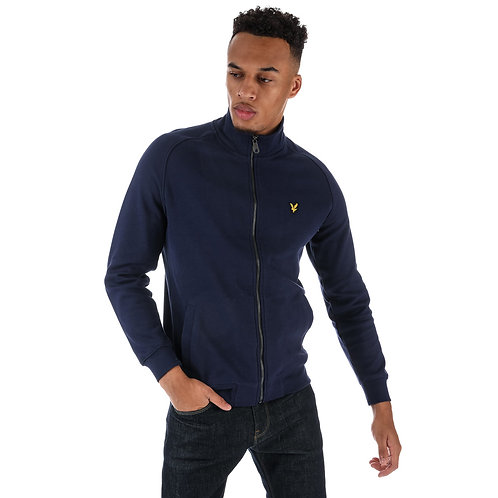 LYLE &SCOTT - Felpa Zip NAVY