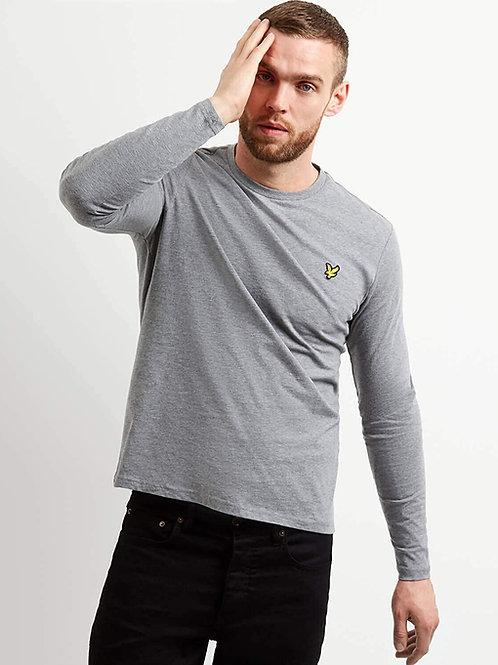 LYLE &SCOTT - T-shirt lunga GREY