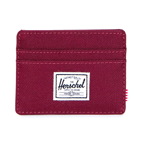 HERSCHEL -charlie-Porta card-WINE