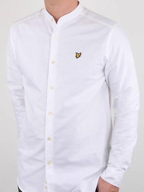 LYLE &SCOTT - Camicia coreana white