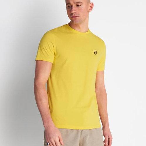 LYLE & SCOTT - T-shirt Buttercup Yellow
