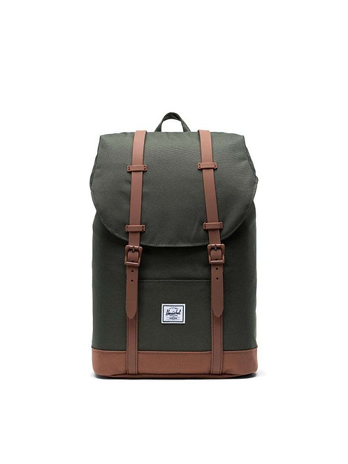 HERSCHEL - Retreat 15'' - Dark Olive Saddle