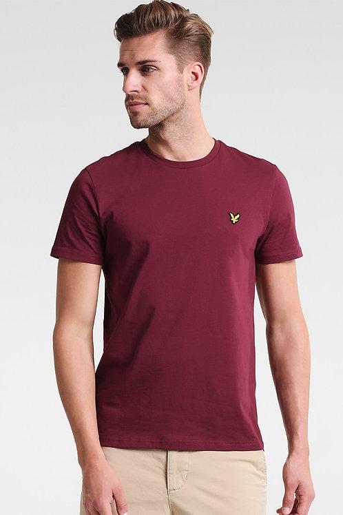 LYLE & SCOTT - T-shirt Claret Jug
