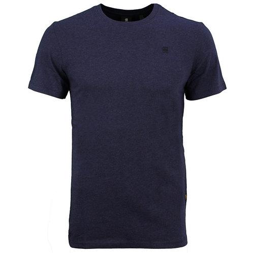 GSTAR- T-shirt-Blue-Organic Cotton