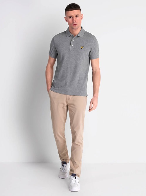 LYLE &SCOTT - Polo Mid Grey Marl