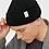 Thumbnail: SOLID beanie BLACK