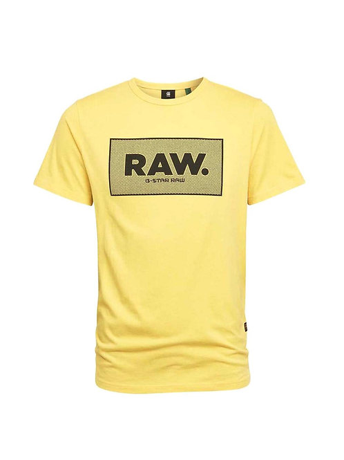 G-STAR - T-shirt box Yellow