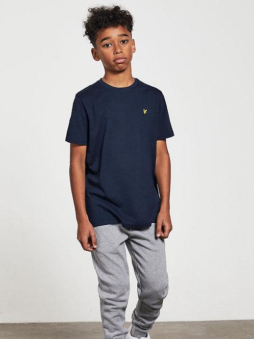 LYLE & SCOTT - JR T-shirt Navy