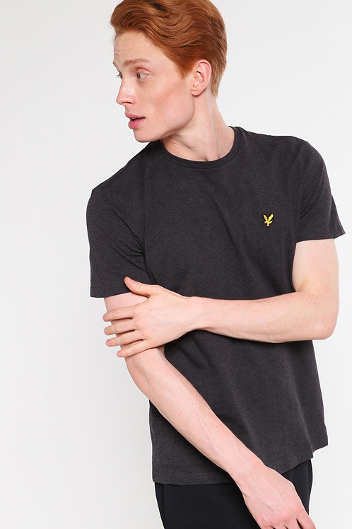 LYLE & SCOTT - T-shirt Charcoal Marl
