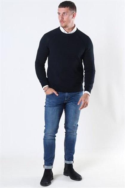 SOLID - Maglione girocollo -NERO