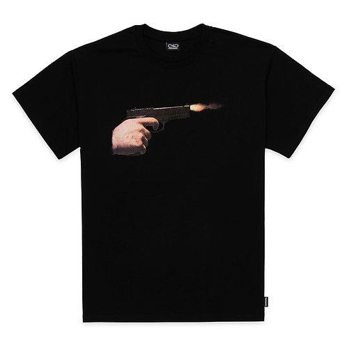 Propaganda- T-shirt gun Black