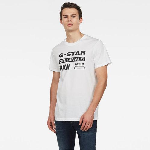G-STAR - T-shirt Graphic 8 White