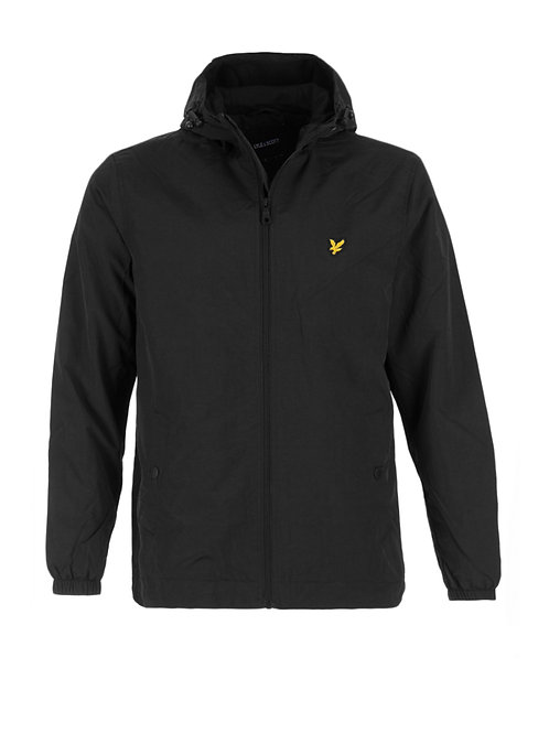 LYLE &SCOTT - Giacca con pile Black