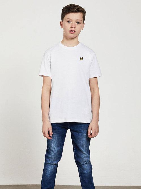 LYLE &SCOTT - JR T-shirt White