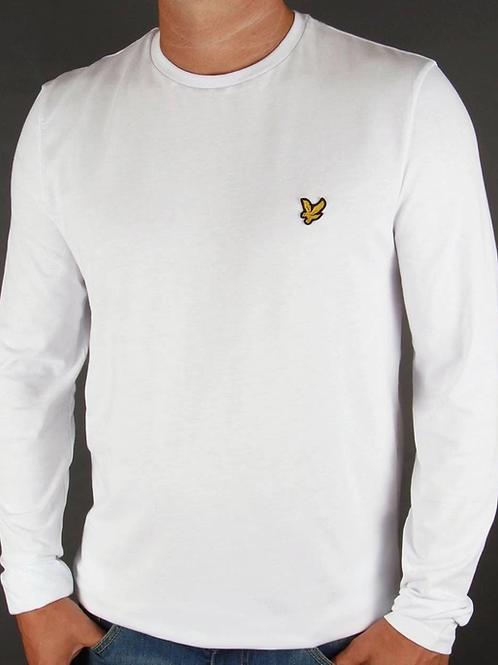 LYLE &SCOTT - T-shirt lunga WHITE