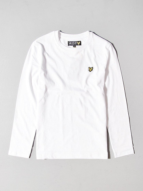 LYLE &SCOTT - JR T-shirt MLWHITE