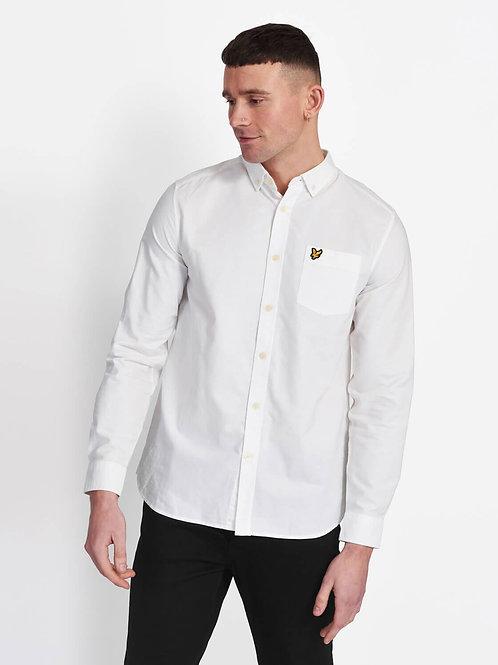 LYLE &SCOTT - Camicia  oxford WHITE