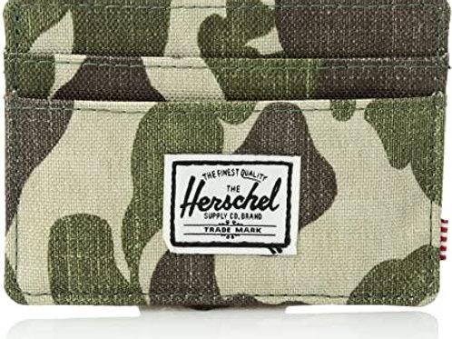 HERSCHEL -charlie-Porta card-frog CAMO