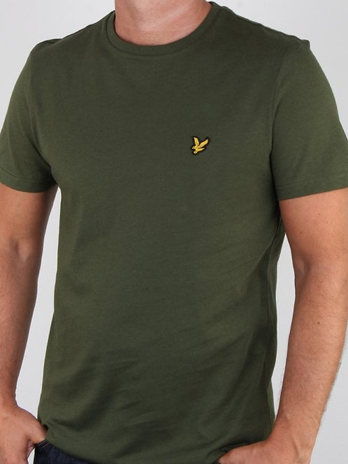 LYLE & SCOTT - T-shirt dark sage
