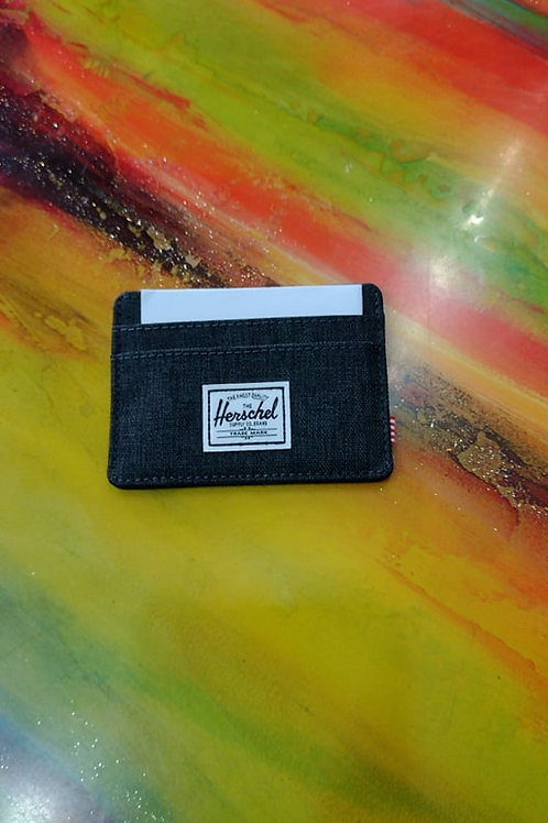 HERSCHEL -charlie-Porta card-Dk grey
