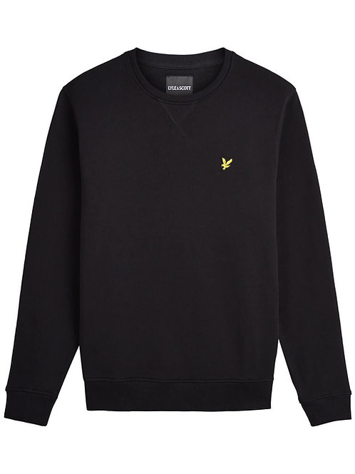 LYLE & SCOTT - Felpa Giro Black