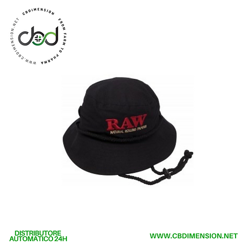 Raw Cap Nero