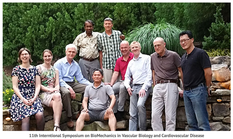 Organisers dinner for the 11th International Symposium on Biomechanics in Vascular Biology and Cardiovascular Disease (Atlanta, 2016)