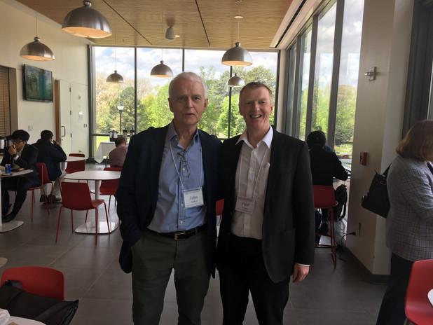 Paul with John Tarbell at Georgia Tech, Altanta (2016).