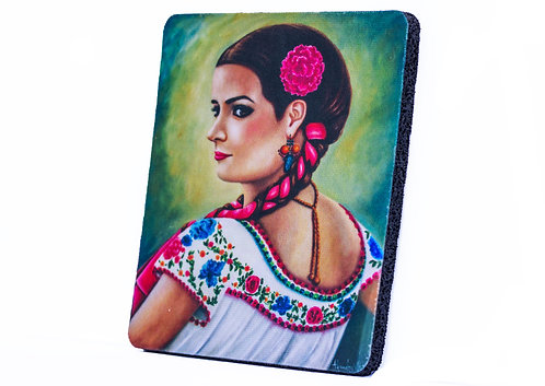 "4"" x 4"" Neoprene Coaster"