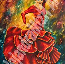 Flamenco Roja #4