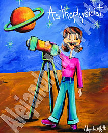 Astrophysicist F