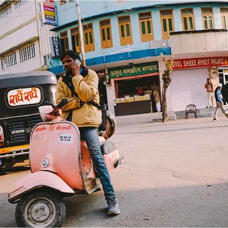 Groetjes uit India!
