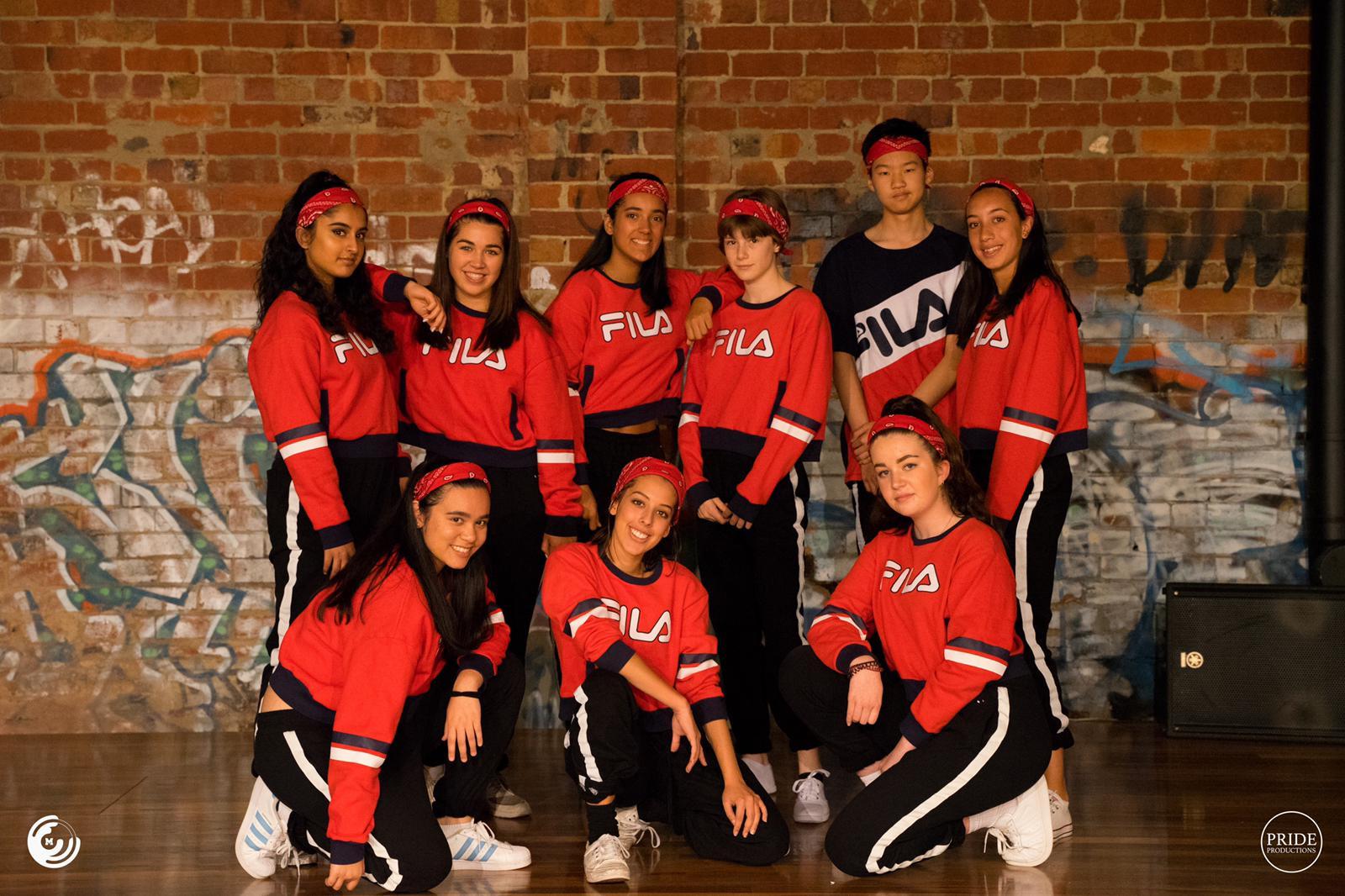 Performance hip hop crew kew dance class caulfield dance hip hop school