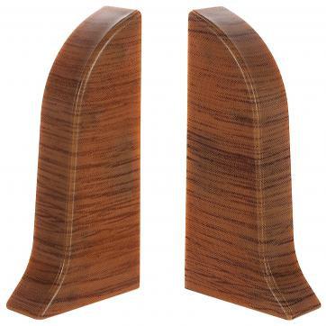 Заглушка для плинтуса левая и правая ПВХ (2 шт.уп) Цвета в ассортименте