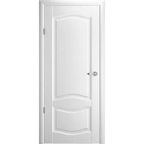 Межкомнатная дверь Vinyl Лувр-1 ДГ белый