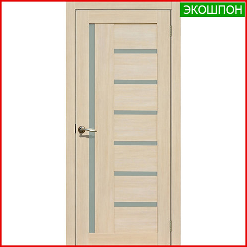 Дверь межкомнатная La Stella 217 в экошпоне цвет латте по низкой цене с доставкой и установкой в Екатеринбурге