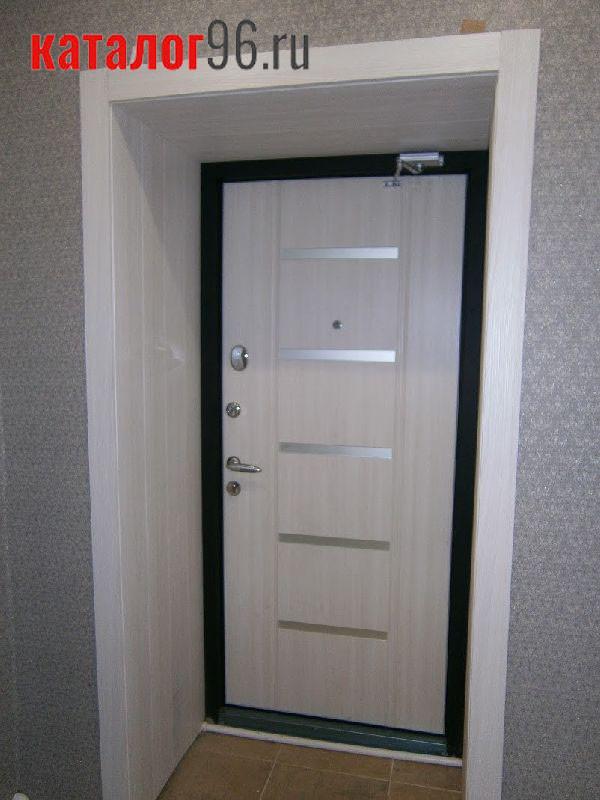 Входная металлическая сейф дверь фото наших работ 17