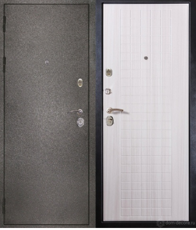 Металлическая сейф дверь Сударь 26 Сандал белый