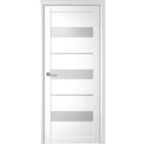 Межкомнатная дверь Vinyl Прага ДО белый