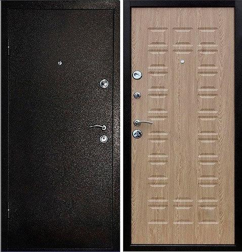 Металлическая сейф дверь Сударь 509 Ясень латте
