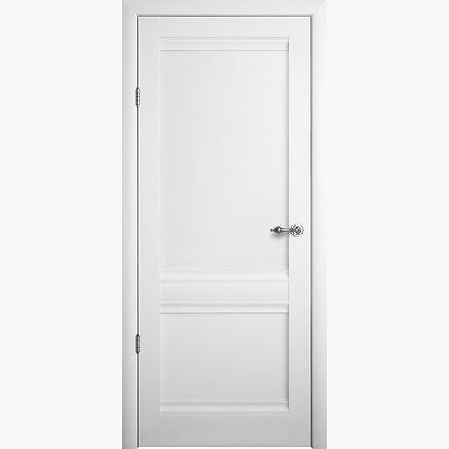 Межкомнатная дверь РИМ ДГ белый винил